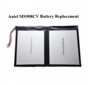 Battery Replacement for Autel MaxiSys MS908CV Truck Heavy Duty