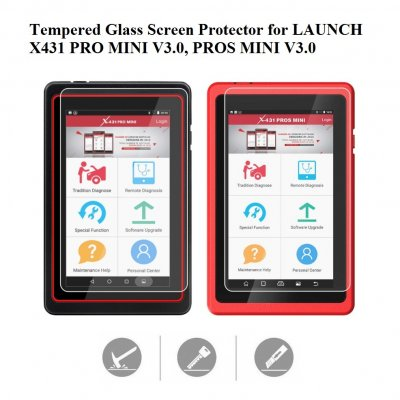 Tempered Glass Screen Protector for LAUNCH X431 Pro Mini V3.0